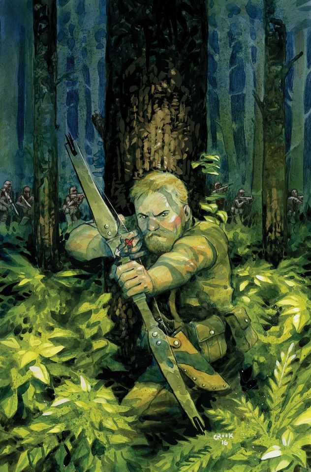 Warlords of Appalachia #1 (10 Copy Crook Cover)