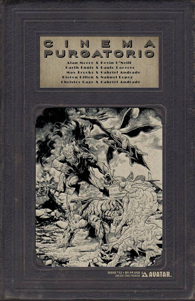 Cinema Purgatorio #12 (Ancient Tome Premium Cover)