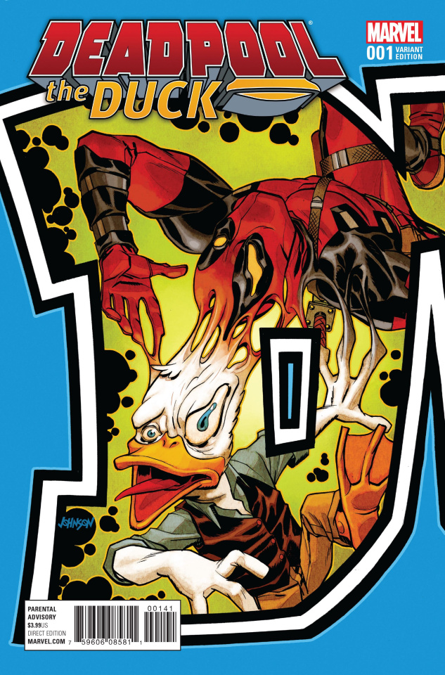 Deadpool the Duck #1 (Connecting Cover)