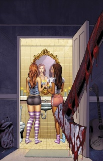 Grimm Fairy Tales: Grimm Tales of Terror #7 (Reyes & Schaffer Cover)