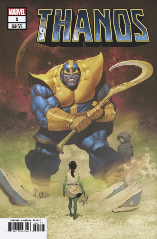 Thanos #1 (Olivetti Cover)