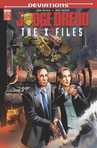 Judge Dredd: Deviations (Mash-Up Cover)