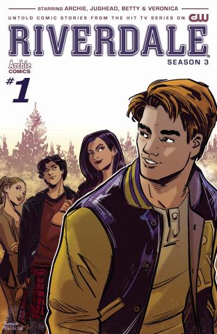 Riverdale, Season 3 #1 (Pitilli Cover)