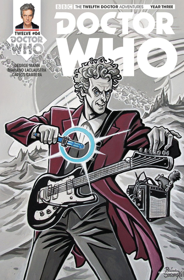 Doctor Who: New Adventures with the Twelfth Doctor, Year Three #4 (Szramski Cover)