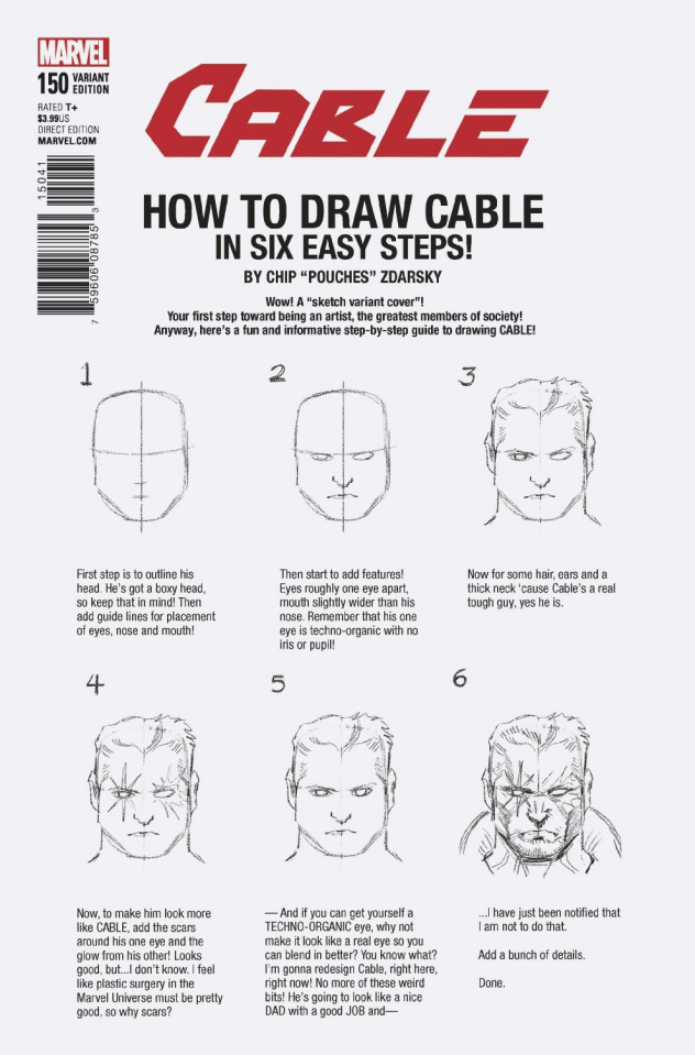 Cable #150 (Zdarsky How To Draw Cover)