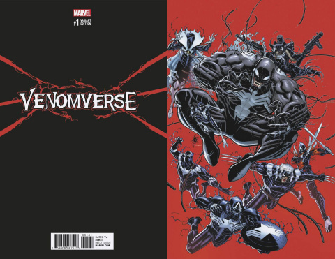 Venomverse #1 (Bradshaw Virgin Cover)