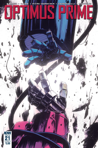 Optimus Prime #21 (Zama Cover)