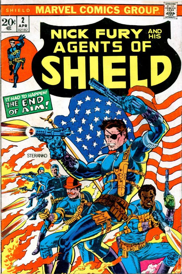 S.H.I.E.L.D. By Steranko Complete Collection