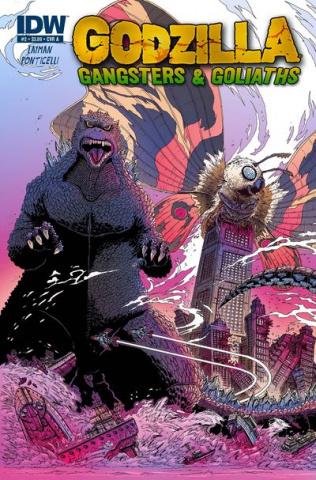 Godzilla: Gangsters & Goliaths #2