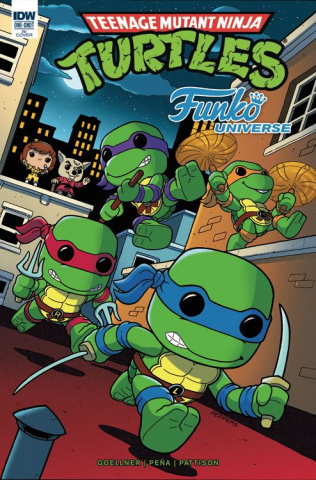 Teenage Mutant Ninja Turtles: Funko Universe (25 Copy Cover)