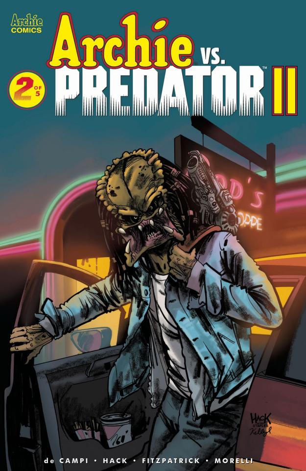 Archie vs. Predator II #2 (Hack Cover)