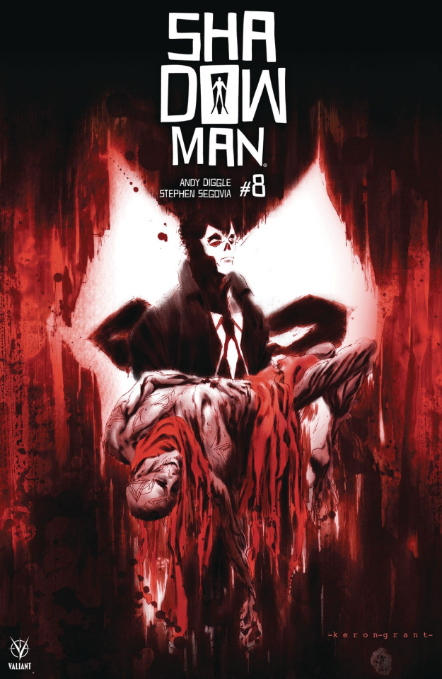 Shadowman #8 (Grant Cover)