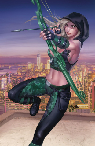 Robyn Hood: Outlaw #1 (Mos Cover)