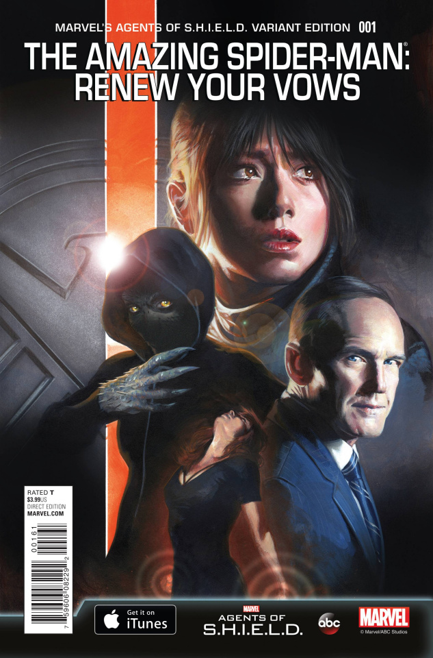 The Amazing Spider-Man: Renew Your Vows #1 (Agents of S.H.I.E.L.D. Cover)