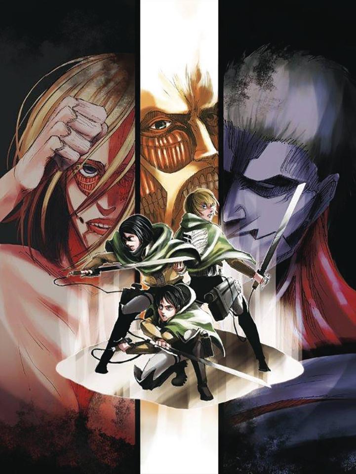 Attack On Titan Vol. 5 (Colossal Edition)