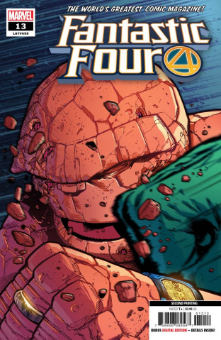 Fantastic Four #13 (Izaakse 2nd Printing)