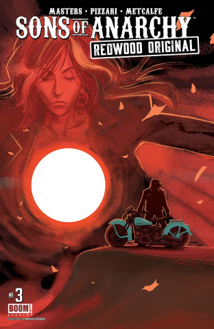 Sons of Anarchy: Redwood Original #3 (Subscription Bergara Cover)