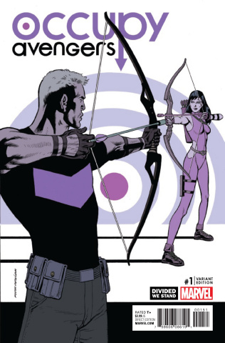 Occupy Avengers #1 (Nowlan Divided We Stand Cover)