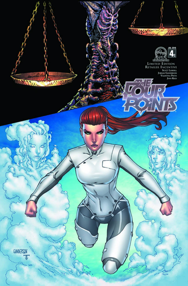 The Four Points #4 (12 Copy Cover)