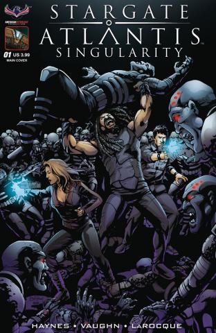 Stargate Atlantis: Singularity #1 (Larocque Cover)