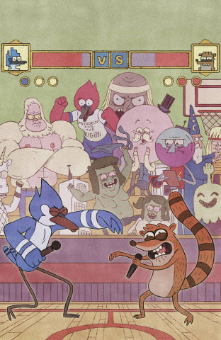 Regular Show #14 (20 Copy Wyatt Cover)
