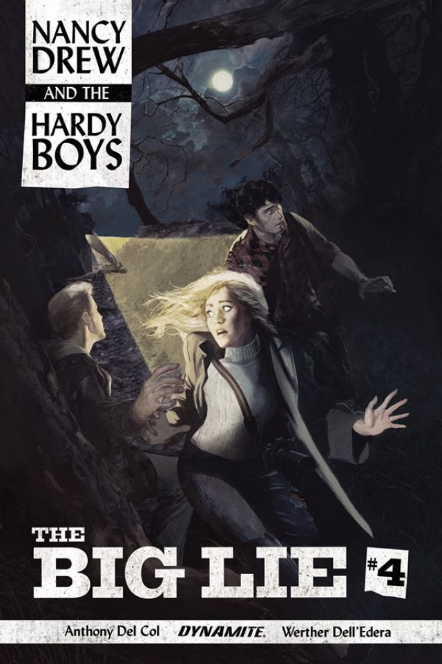 Nancy Drew and The Hardy Boys #4 (Dalton Cover)