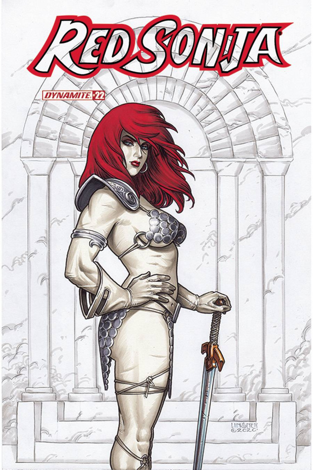 Red Sonja #22 (Linsner Cover)
