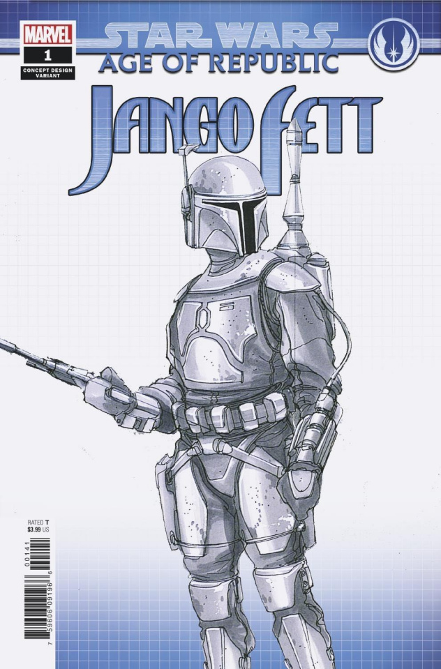 Star Wars: Age of Republic - Jango Fett #1 (Concept Design Cover)
