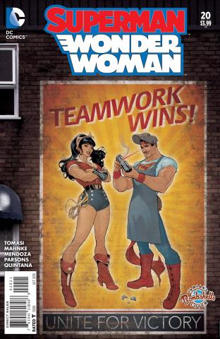 Superman / Wonder Woman #20 (Bombshells Cover)
