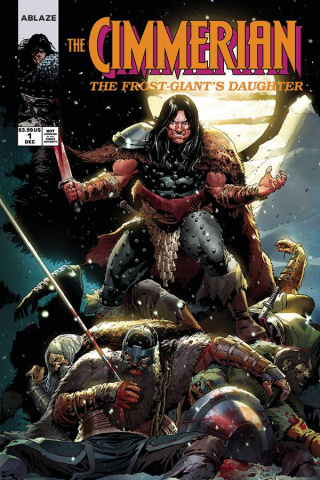 The Cimmerian: The Frost Giant's Daughter #1 (Casa Cover)
