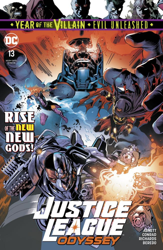 Justice League: Odyssey #13 (Year of the Villain)
