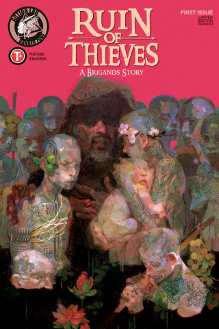 Ruin of Thieves: A Brigand's Story #1 (Radhakrishnan Cover)