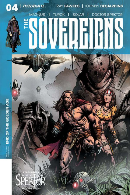 The Sovereigns #4 (Desjardins Cover)