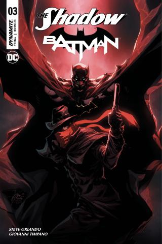 The Shadow / Batman #3 (Tan Cover)