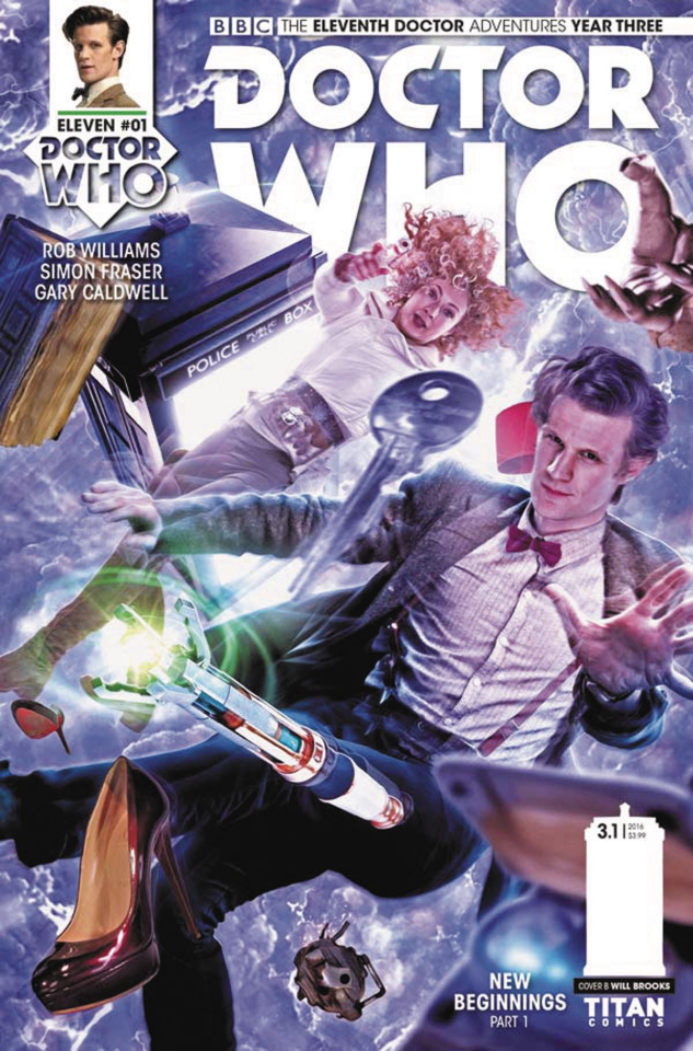 Doctor Who: New Adventures with the Eleventh Doctor, Year Three #1 (Photo Cover)