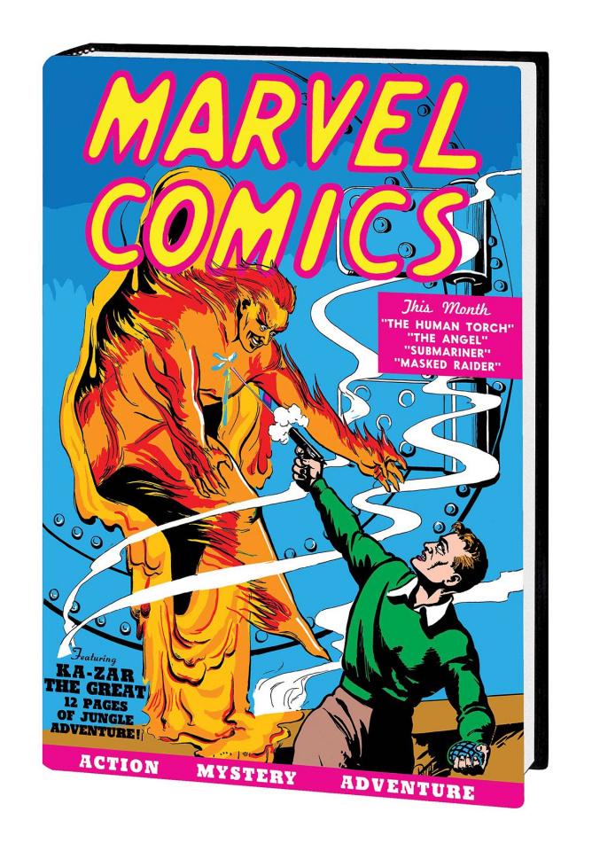 Golden Age Marvel Comics Vol. 1 (Omnibus)