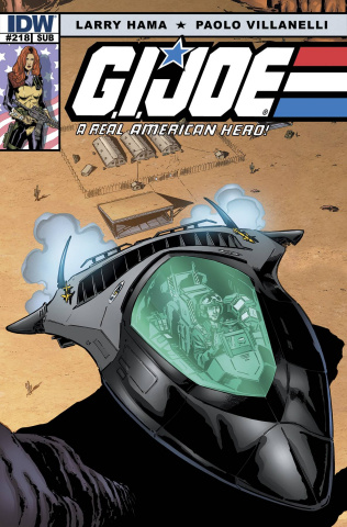 G.I. Joe: A Real American Hero #218 (Subscription Cover)