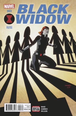 Black Widow #3 (Samnee 2nd Printing)