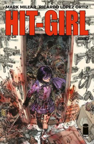 Hit-Girl #1 (Gi Cover)