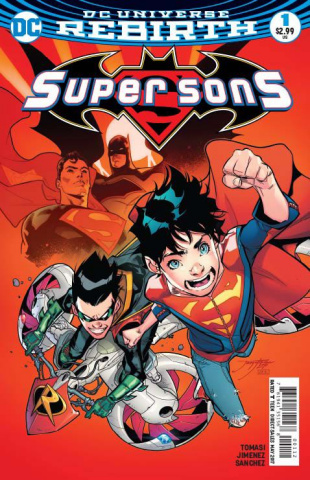 Super Sons #1 (2nd Printing)