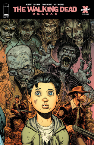 The Walking Dead Deluxe #3 (Adams & McCaig Cover)