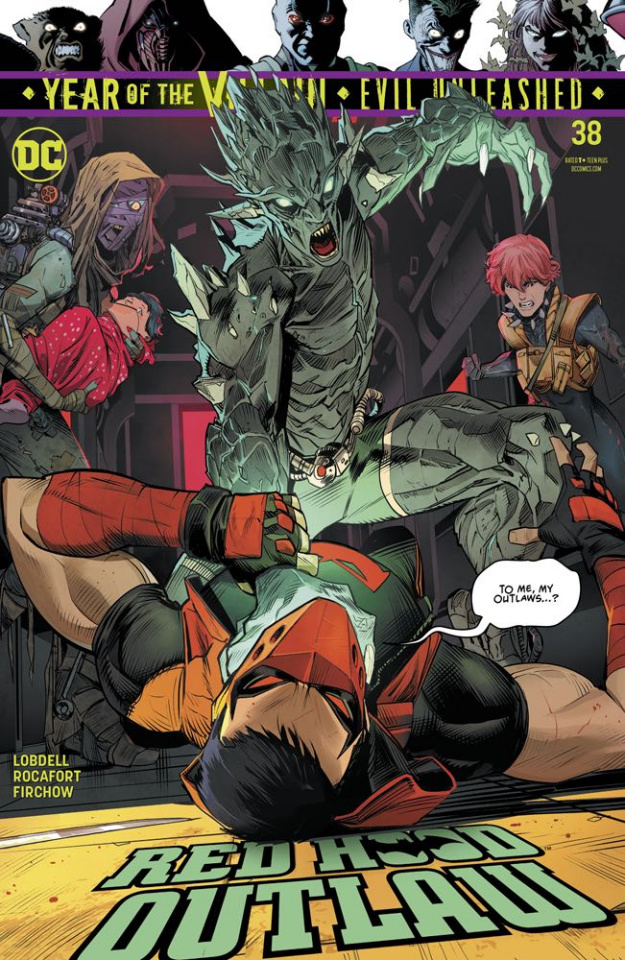 Red Hood: Outlaw #38 (Year of the Villain)