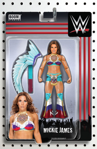 WWE #16 (Riches Action Figure Cover)