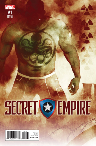 Secret Empire #1 (Sorrentino Hydra Heroes Cover)