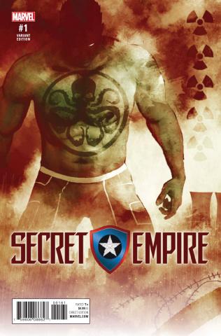 Secret Empire #1 (Sorrentino Hydra Heroes Cover)