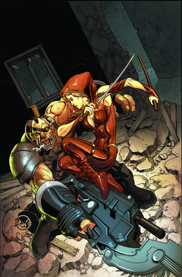 Grimm Fairy Tales: Code Red #3 (Igle Cover)