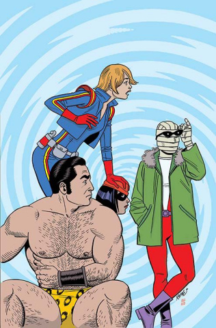 Doom Patrol #1 (Hernandez Cover)