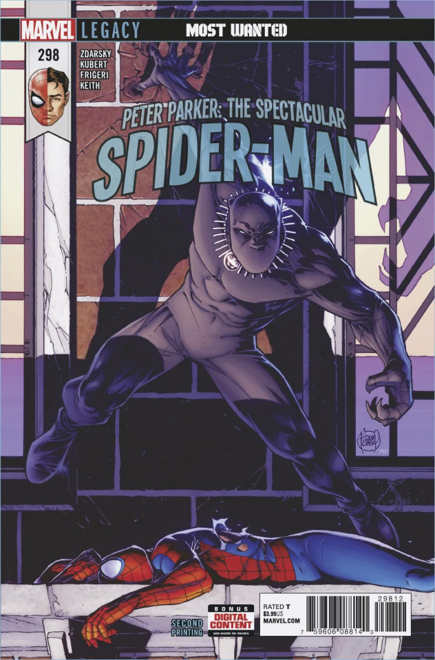 Peter Parker: The Spectacular Spider-Man #298 (2nd Printing)