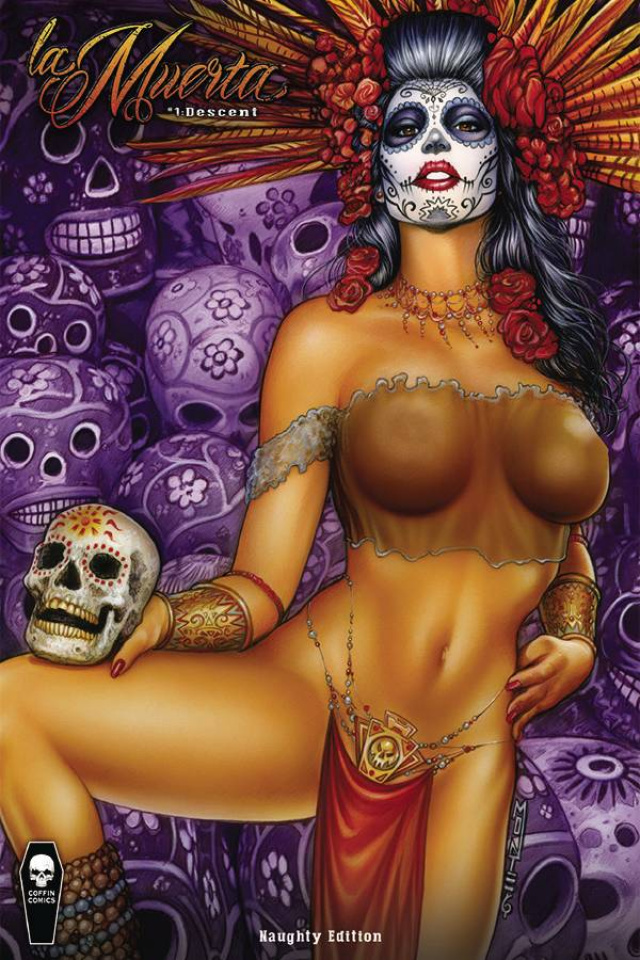 La Muerta: Descent #1 (Naughty Cover)