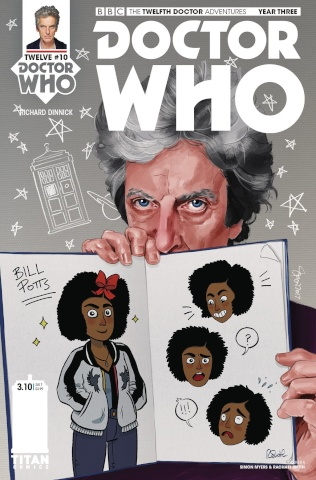 Doctor Who: New Adventures with the Twelfth Doctor, Year Three #10 (Myers & Smith Cover)